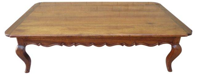 French Walnut Coffee Table