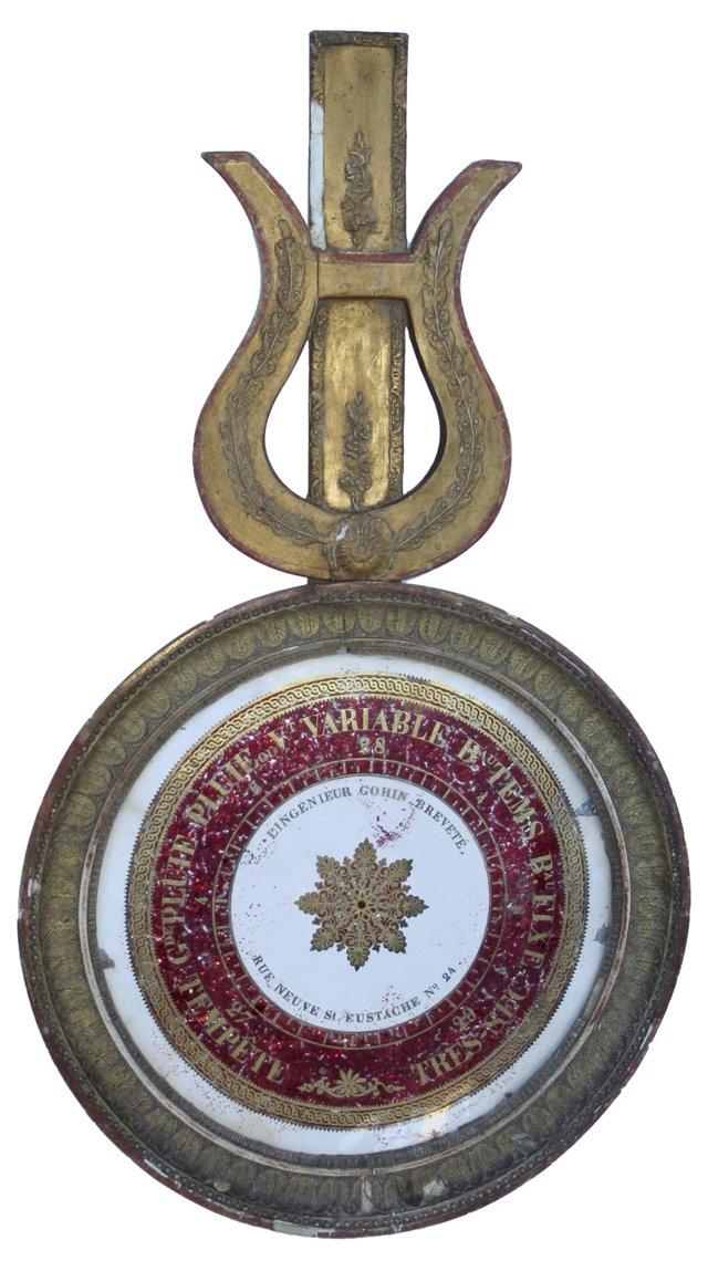 Giltwood Barometer