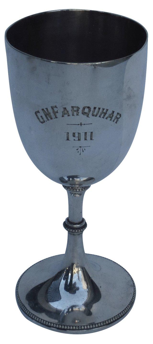 English Silverplate Trophy