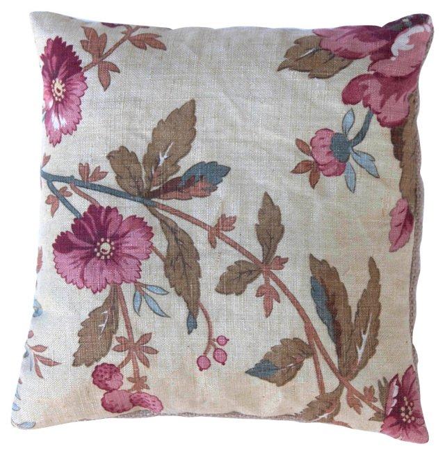 Linen Floral Sachet