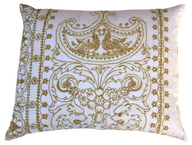 Lace   Appliquéd  Pillow