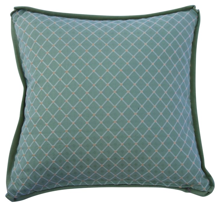 Trade-Only Fabric Pillow w/ Flange
