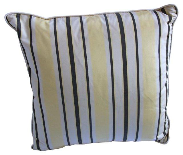 Silk  Stripe Pillow