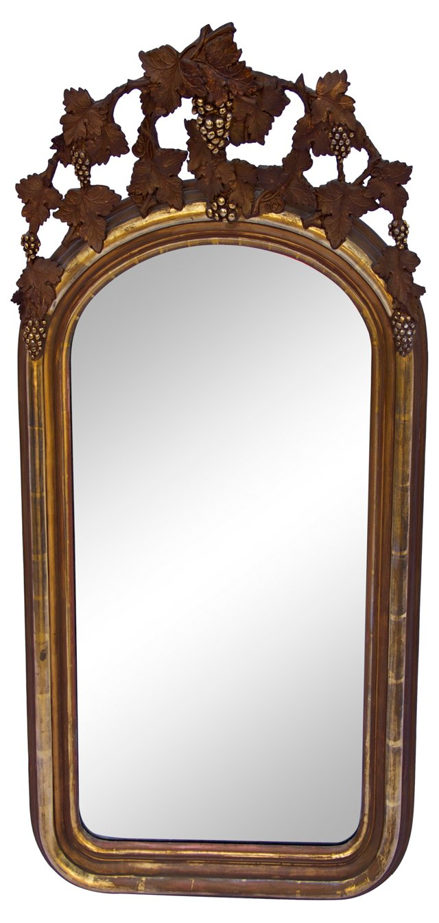 Giltwood French Mirror