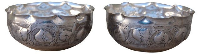Silver Dishes, Pair
