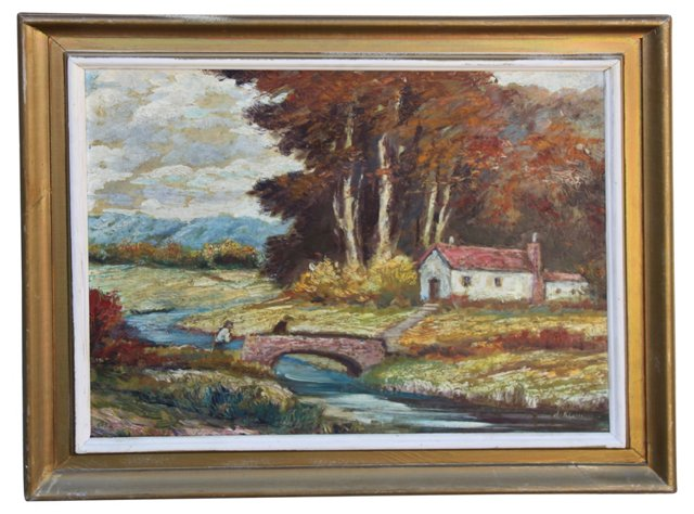 Landscape by A. Klein