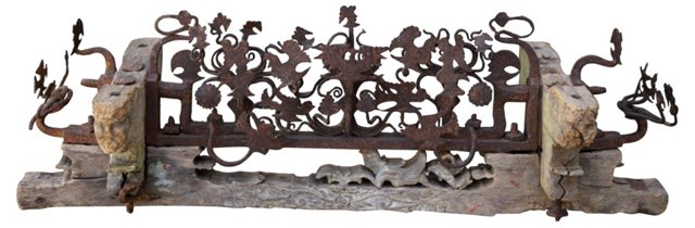 Antique Wedding Cart Fragment