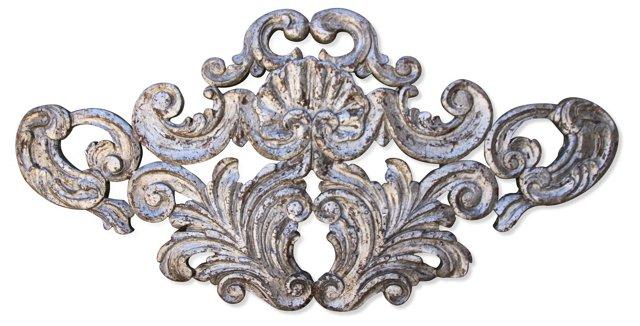 Italian Silver Leaf   Carving