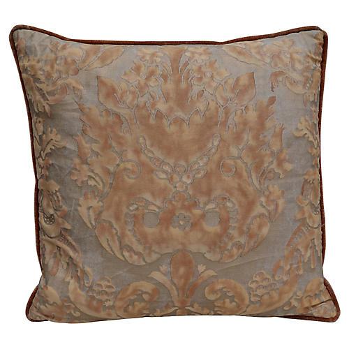 Custom Fortuny Textile Pillow