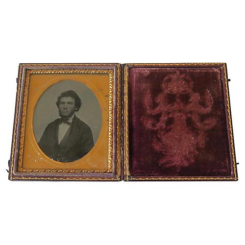 Daguerreotype in Embossed Case