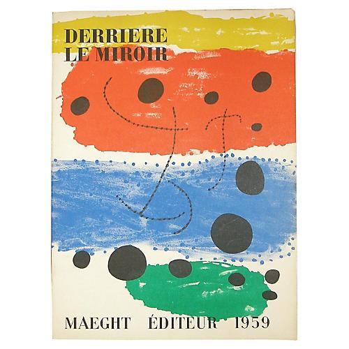 Derrière Le Miroir: Joan Miró & Braque