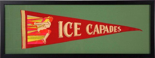 Ice Capades Pennant