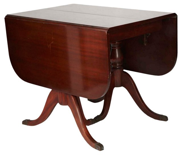 American Federal Drop-Leaf Dining Table