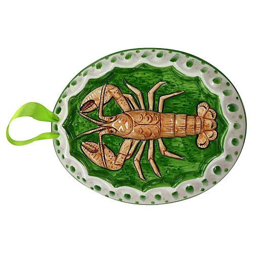 Ceramic Lobster Wall Hanging