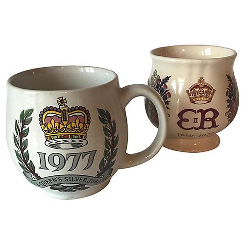 Queen Elizabeth II Mug & Cup