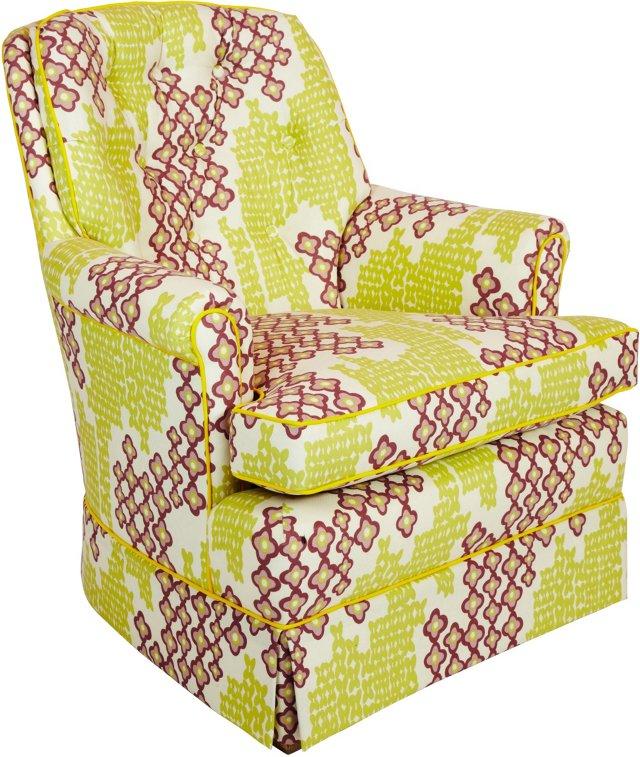 Green & Purple Armchair