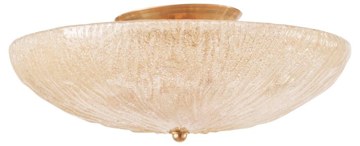 Amber Ceiling Fixture