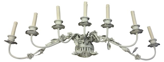 Italian 7-Light Sconce