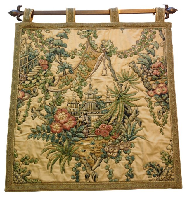 Midcentury Asian Tapestry