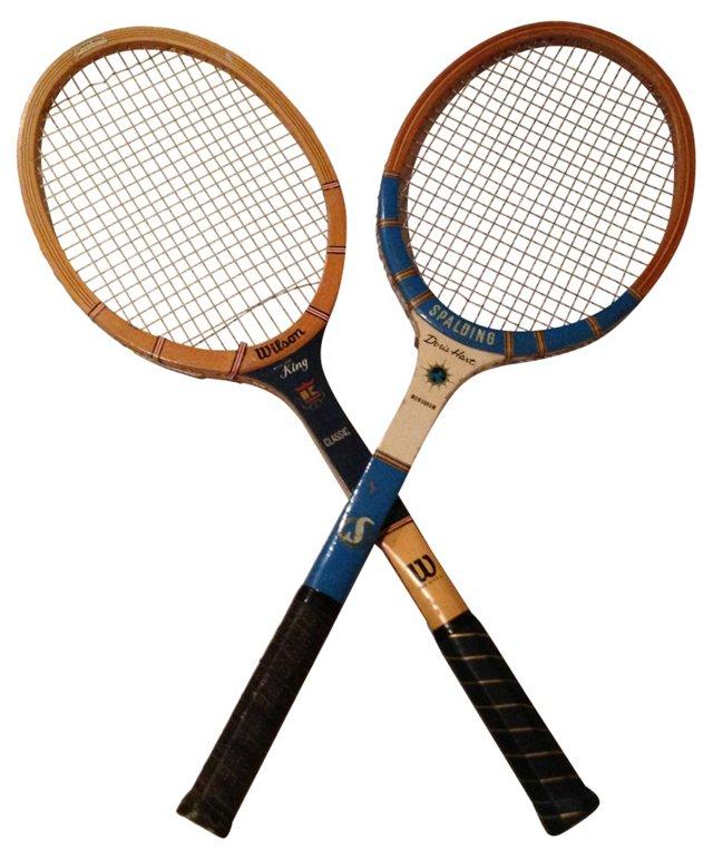 Tennis Racquets,  Pair