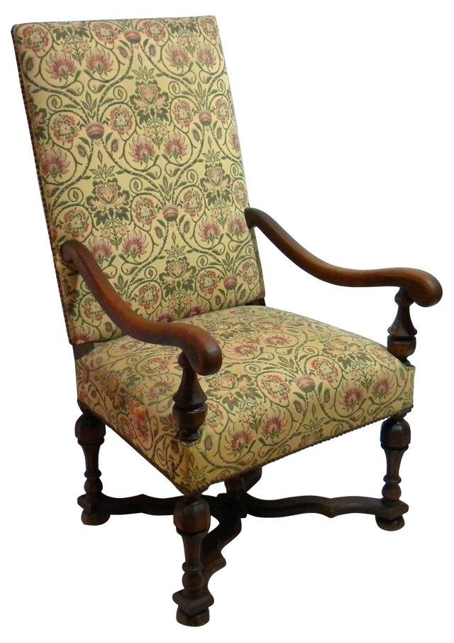 Renaissance-Style  Throne Chair