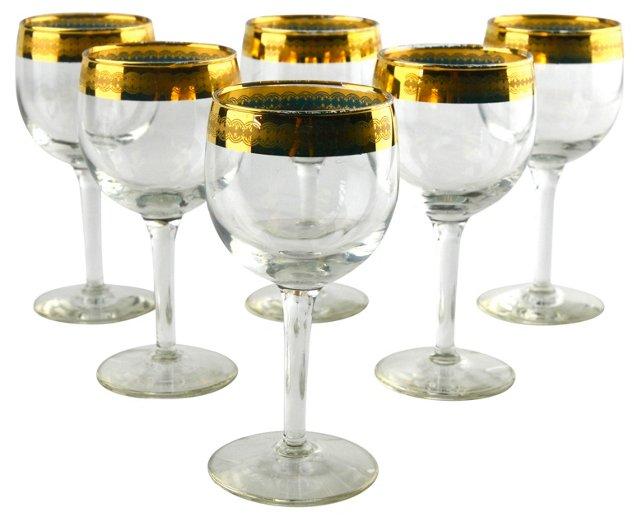 Wine   Goblets, Set of 6