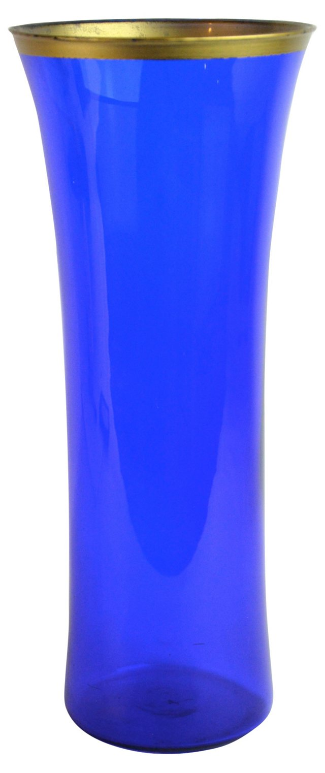 Cobalt Glass Vase