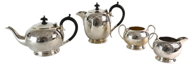English Coffee Service, 4 Pcs