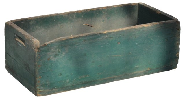 Rustic Garden Sifter Box