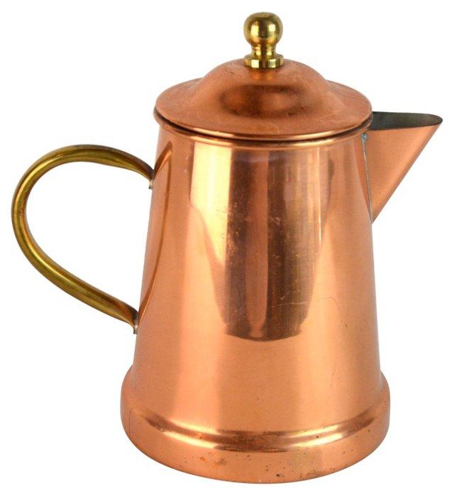 Portuguese Copper Teapot