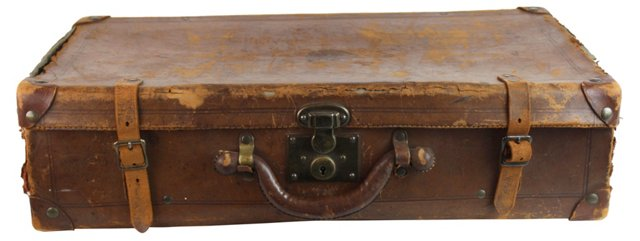 European Leather Travel Case