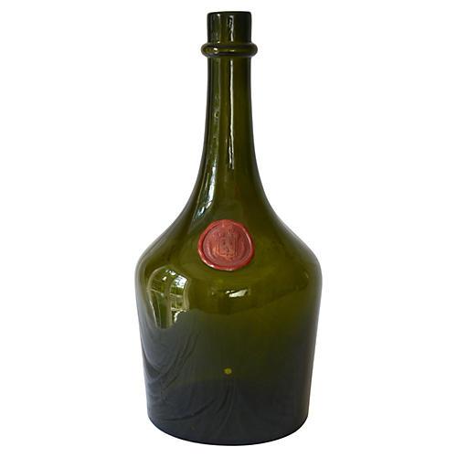 French Liquor Bottle