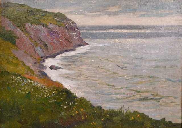Coastal Seascape, William Starkweather