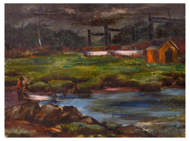 WPA Landscape, W.M. Cote
