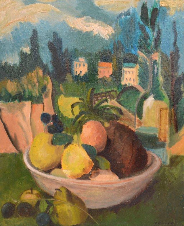 Fruit Still Life, D. Simmons