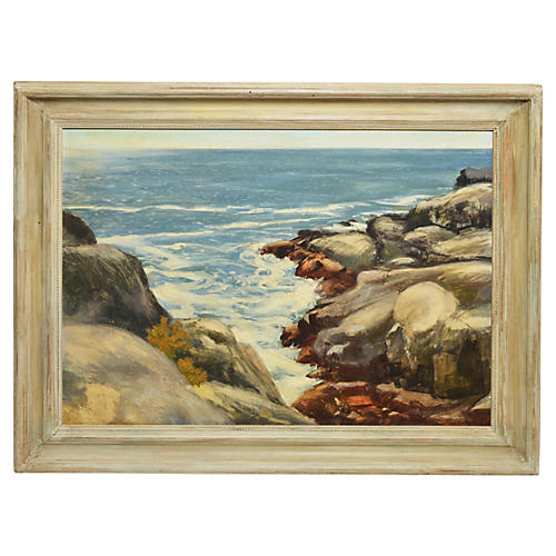 New England Coastal View