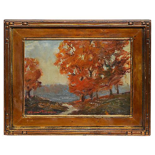 Fall Landscape by Robert Owen