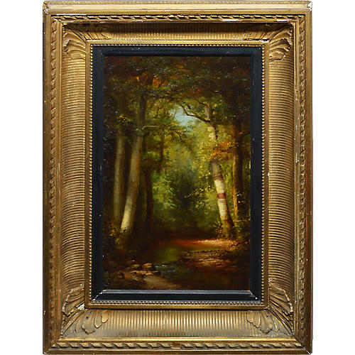 Hudson River School Forest Interior