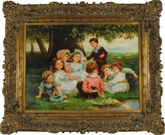 Enfants, Fête Champêtre