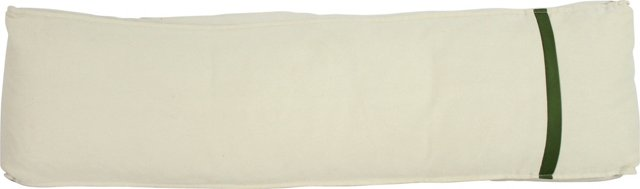 Light Cream Rectangular Canvas Pillow