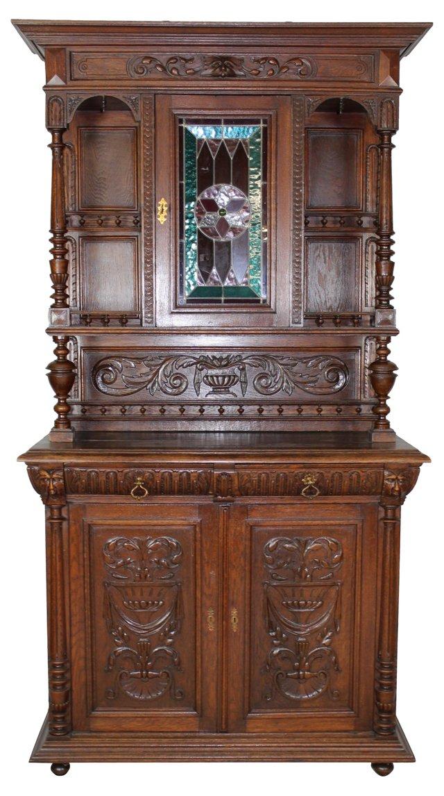 Renaissance-Style   Buffet Cabinet