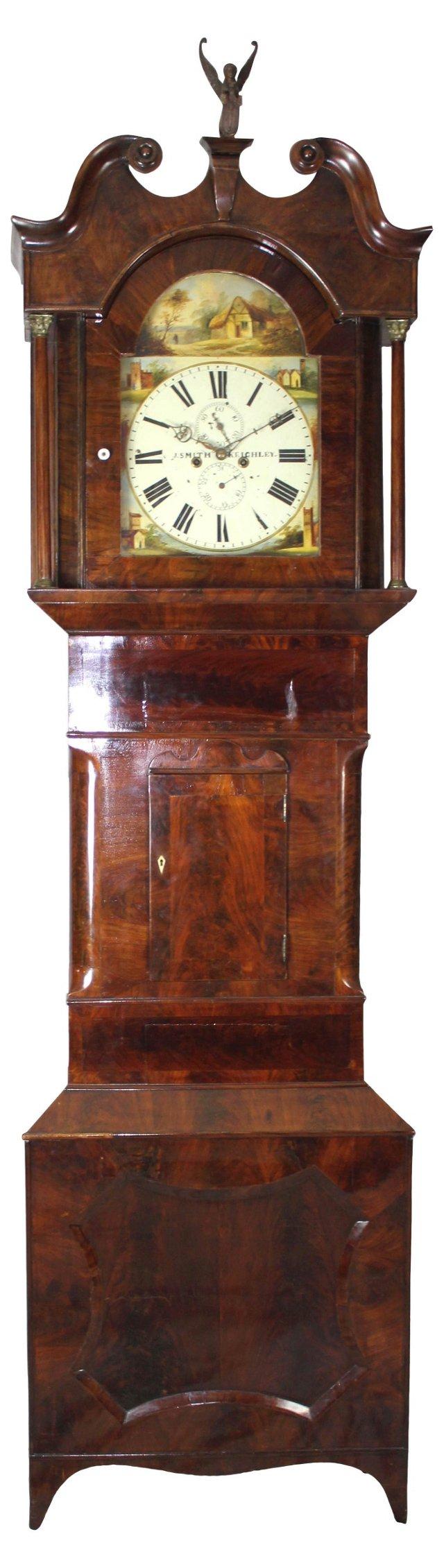 George III Grandfather Clock