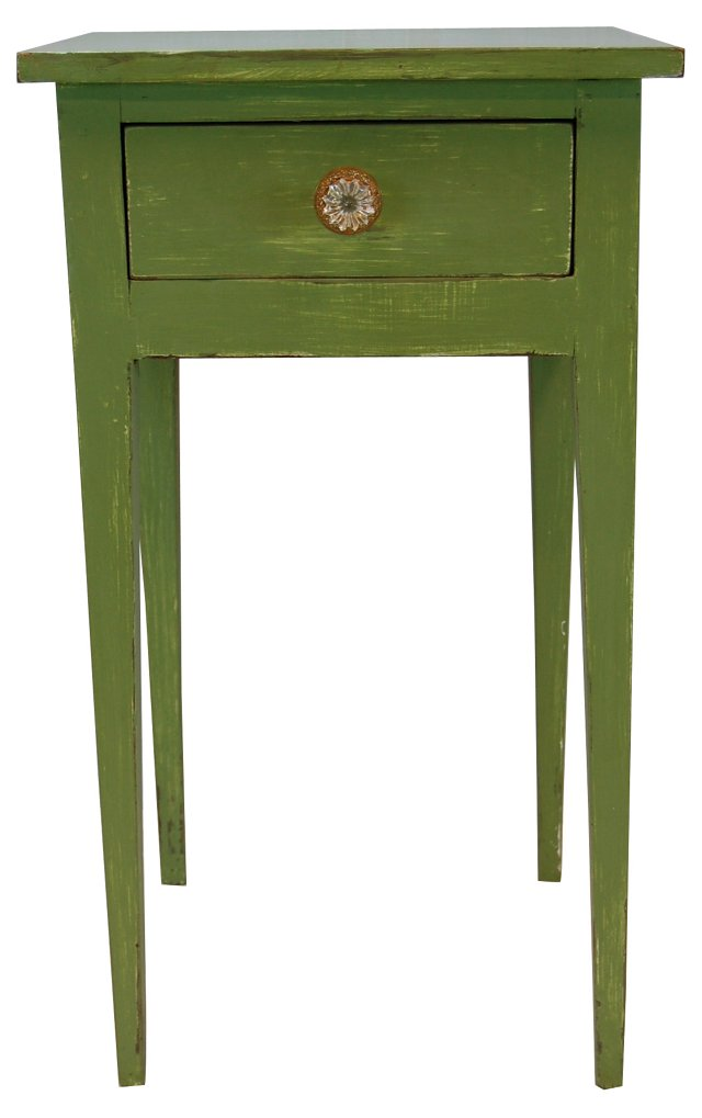 Late-19th-C. American Painted Side Table