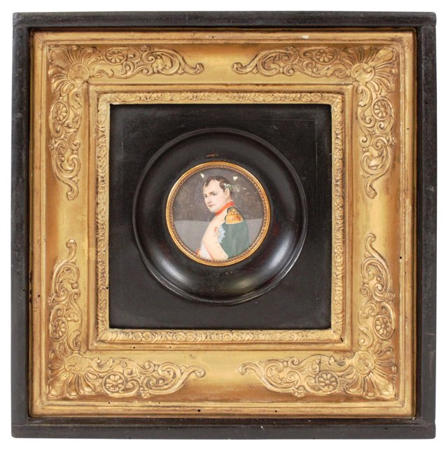 Miniature Painting of Napoleon