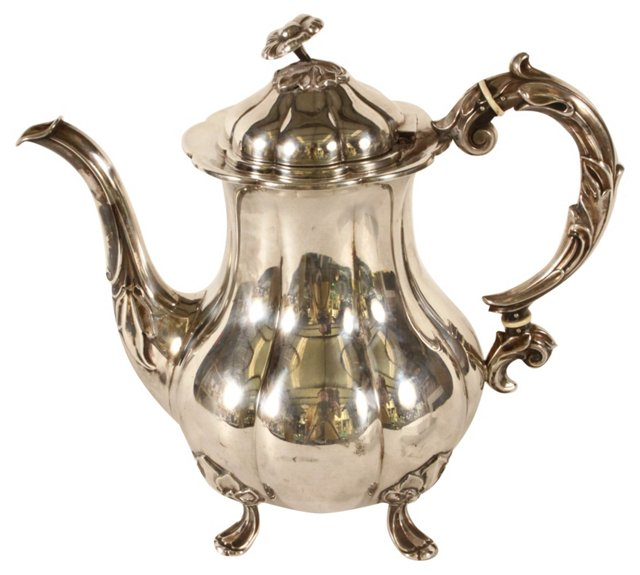Cohr Silverplate Teapot
