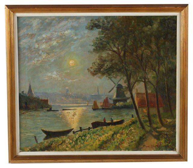 Holland Afternoon by Finn Wennerwald