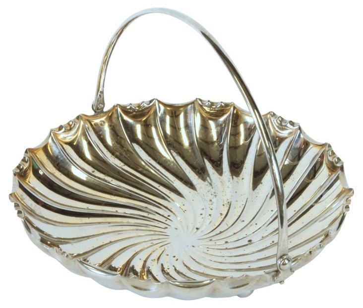 Silverplate Bread Bowl