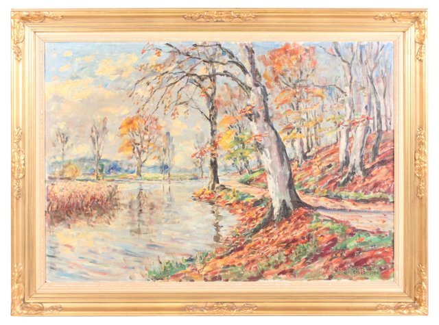 Impressionist Lake