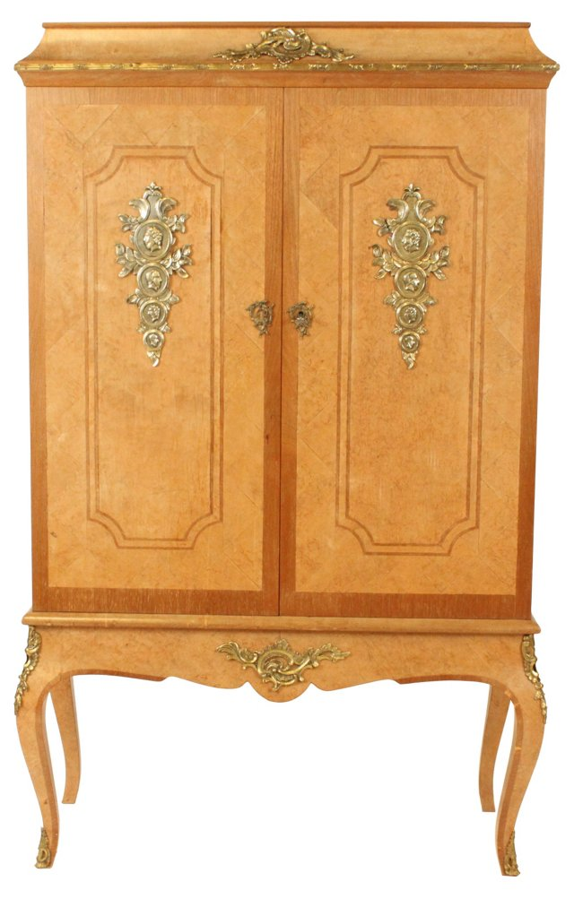 French Beech Armoire