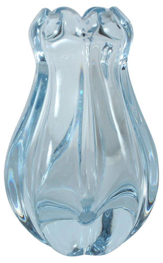 Flygsfors Art Glass Vase